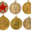 Old soviet rare medals(copy) — Stock Photo #6274665