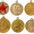 The old soviet rare medals(copy) — Stock Photo