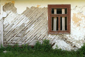 Wall of old house — Stock Photo