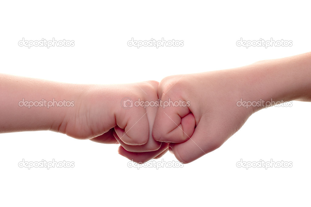 The fists — Stock Photo #6273831