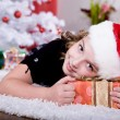Xmas girl — Stock Photo #6098526