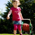 Garden girl — Stock Photo #6100354