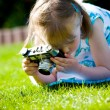 Stock Photo: Photographer girl