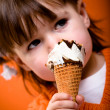 Stock Photo: Ice cream