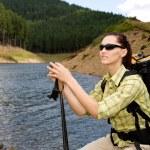 Hiking woman — Stock Photo #6101513