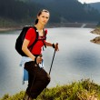 Royalty-Free Stock Photo: Hiking woman