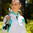 Nordic walking — Stock Photo #6101560