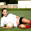 Soccer girl - Foto de Stock