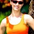 Jogging woman — Stock Photo #6101670