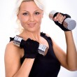 Gym girl — Stock Photo #6108267