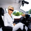 Driving girl — Stock Photo #6108476