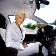 Driving girl — Stock Photo #6108477