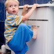 Boy in bathroom — Stock Photo #6169995