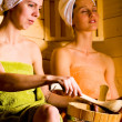 Sauna girls — Stock Photo #6170228