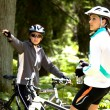 Cycling woman — Stock Photo #6170449