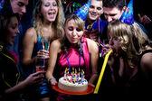 Födelsedagsfest — Stockfoto