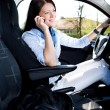 Driving girl — Stock Photo #6218432