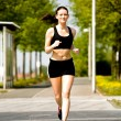 Jogging woman — Stock Photo #6218439