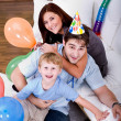 Celebrating  birthday — Foto Stock