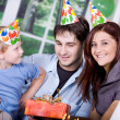 Royalty-Free Stock Photo: Celebrating  birthday