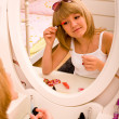 Stock Photo: Make up girl