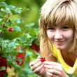 Girl in the garden — Stock Photo #6218787