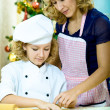 Xmas bakery — Stock Photo