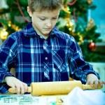 圣诞面包店 — 图库照片
