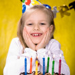 Celebrating birthday — Stock Photo #6218924