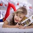 Xmas girl — Stock fotografie #6219026