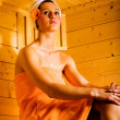 The Sauna — Stock Photo