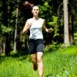 Jogging woman — Stock Photo #6219391