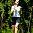 Jogging woman — Stock Photo #6219396