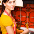 Foto Stock: Kitchen activities
