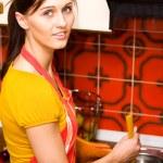 Kitchen activities — Stock Photo