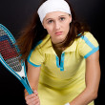 Tennis girl — Stock Photo #6219427