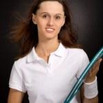 Tennis girl — Stock Photo #6219429