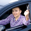 Driving man — Stock Photo #6219531