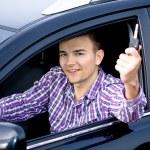Driving man — Stock Photo #6219531