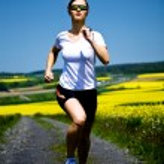 Jogging woman — Stock Photo #6219560