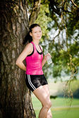Jogging woman — Foto de Stock