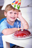 Celebrating birthday — Stock Photo