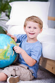 Learning about Earth — Stock Photo