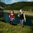 Hiking women — Stock Photo