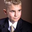 Boys hairstyle — Foto de stock #6227839