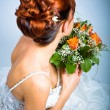 Bride hairstyle — Stockfoto #6227857
