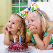 Celebrating birthday - Foto de Stock