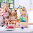 Celebrating birthday — Stock Photo #6230399
