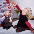 Xmas girl — Stock Photo #6230405