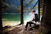 Lago di Dobiacco — Stock Photo